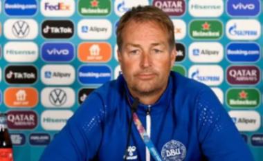 """Trajneri i Danimarkës """"thumbon"""" keq UEFA-n: Një rast me Covid-19 shtyn ndeshjen për 48 orë, ndërsa me arrest kardiak jo"""