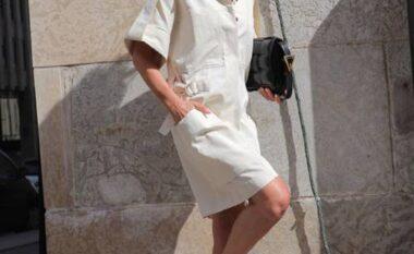 Sa herë do të bëhesh gati për 5 minuta dhe të dukesh e veshur shtrenjtë, vish këtë fustan (FOTO LAJM)