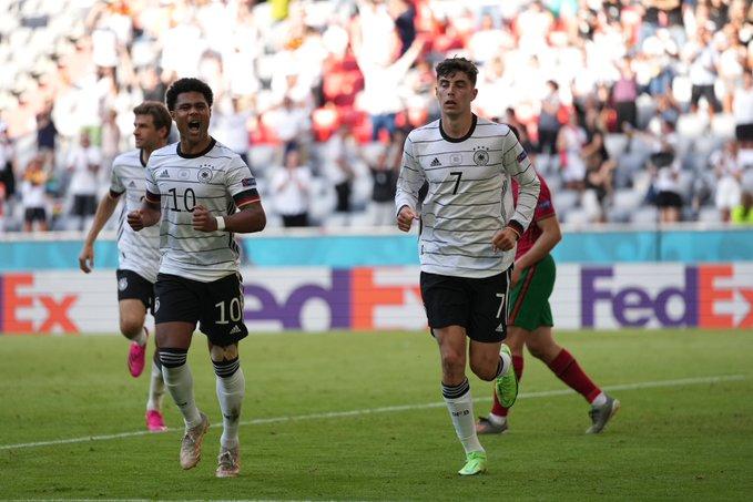"""EURO 2020/ Gola dhe spektakël në 45 minutat e para mes Portugalisë dhe Gjermanisë, """"panzerat"""" në avantazh (VIDEO)"""