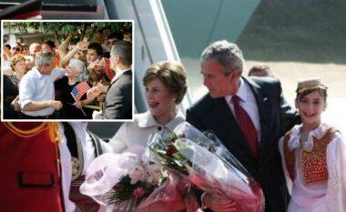 14 vite nga vizita e George Bush në Shqipëri, fotot nga momentet e rralla (FOTO LAJM)