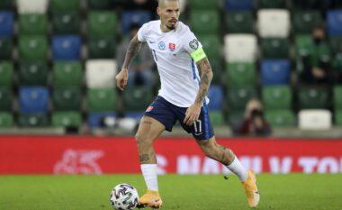 Prag ndeshja me Spanjën, Hamsik: Kur Spanja ka qenë në vështirësi, i ka befasuar të gjithë
