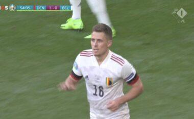 EURO 2020/ Aksion perfekt, Belgjika barazon rezultatin ndaj Danimarkës (VIDEO)