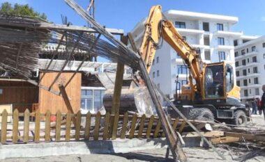 IKMT vijon aksionin, nis shembja e ndërtimeve pa leje në Shëngjin