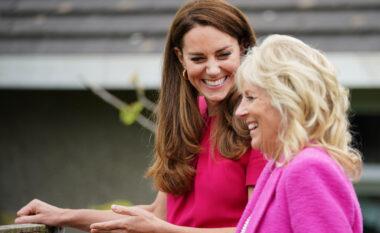 Jill Biden dhe Kate Middleton, dy zonja në rozë