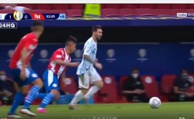 """Argjentina fitoi minimalisht ndaj Paraguait, por ky moment kur Messi """"sheshon"""" kundërshtar nuk duhet humbur (VIDEO)"""