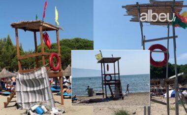 Ku janë vrojtuesit? Shqiptarët dynden në plazhe, asnjë siguri për jetën (FOTO LAJM)
