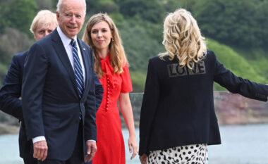 """Mesazhi i fshehur në xhaketën e Jill Biden, """"dashuri"""" për Evropën"""