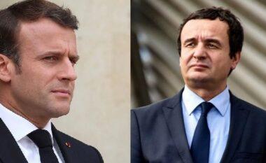 Kurti shkon në Francë, takon Presidentin Macron