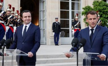 Macron: Kosova dhe Serbia të veprojnë si evropianë dhe të arrijnë një marrëveshje