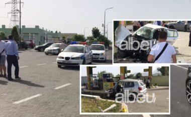 Aksident me dy të lënduar në Lezhë-Milot, dërgohen me urgjencë në spital