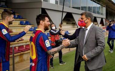 Një javë larg skadimit të kontratës, Messi ende nuk ka rënë dakord për marrëveshjen e re me Barcelonën
