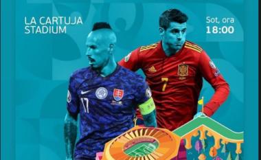 Ndiqeni LIVE ndeshjen, Sllovaki-Spanjë