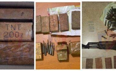 EMRAT/ Lëndë eksplozive, kallashnikov dhe municione luftarake: Arrestohen 3 persona në Durrës