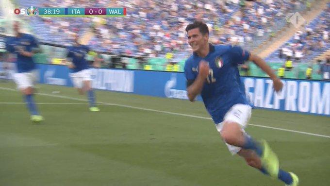 EURO 2020/ Italia kalon në avantazh ndaj Uellsit (VIDEO)