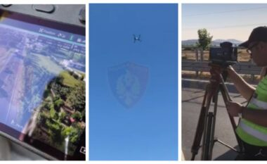 """Kontroll me drone dhe radarë, """"Rrugorja"""" ndëshkon shoferët: 15 të arrestuar dhe 2881 gjoba në 24 orë"""