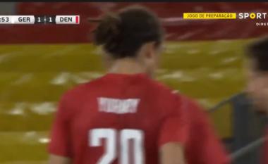 Danimarka barazon rezultatin përballë Gjermanisë (VIDEO)