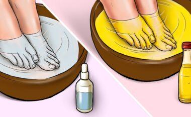Këmbë të fryra dhe të enjtura? Këto 2 receta do t'ju lehtësojnë ditën