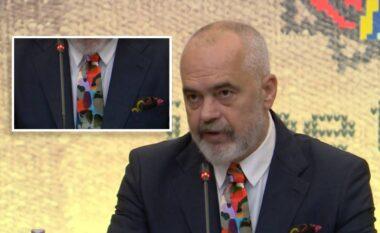 Samiti në Tiranë, Rama zgjedh kravatën e veçantë