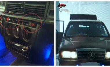 I vendosën Benz-it sirena policie dhe lëviznin me shpejtësi, e pësojnë keq dy shqiptarët në Itali