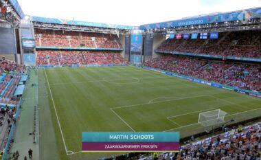Po prisnin vendimin e UEFA-s, tifozët e Danimarkës dhe Finlandës thërrasin në kor emrin e Eriksen (VIDEO)