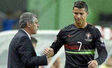 """Prag """"Euro 2020"""", Santos në mbështetje të Ronaldos: Është gjithmonë i qetë, ai është lojtari më i mirë në botë"""