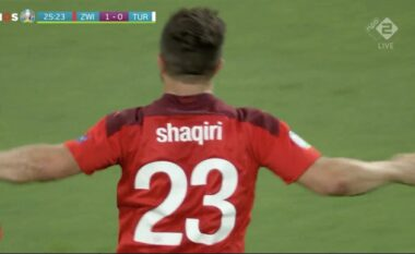 EURO 2020/ Shënon Shaqiri, Zvicra dyfishon rezultatin ndaj Turqisë (VIDEO)