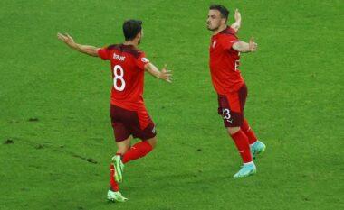EURO 2020/ Sërish Shaqiri, Zvicra shënon golin e tretë ndaj Turqisë (VIDEO)