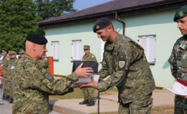 I mposht të gjithë, shqiptari shpallet ushtari më i mirë në Kroaci! (FOTO LAJM)