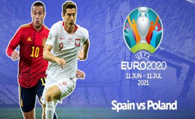 EURO 2020/ Spanjë – Poloni, formacionet zyrtare