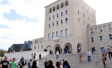 Universiteti i Tiranës nxjerr kriteret dhe kuotat për regjistrimin e studentëve