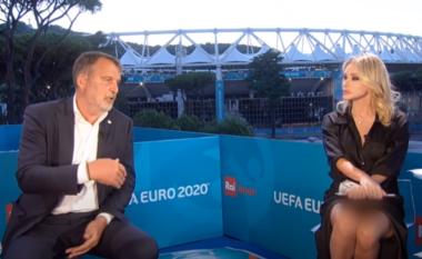 Gazetarja sportive zbulon pjesët intime gjatë emisionit live (VIDEO)