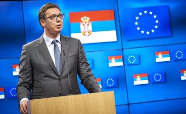 Vuçiç: Nuk e pranoj Kosovën, nuk dua të bëhem si Zaevi që nuk fitoi asgjë nga BE (VIDEO)