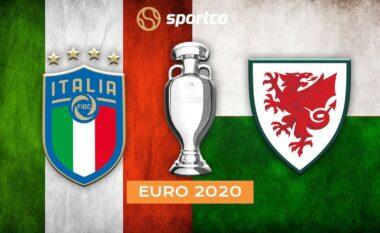 EURO 2020/ Itali – Uells, formacionet zyrtare