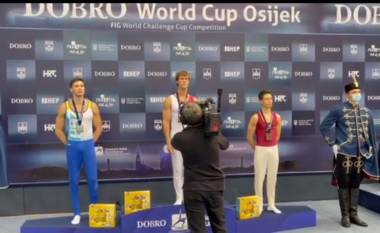Historike/ Shqipëria merr medaljen e artë në Botërorin e Gjimnastikës (VIDEO)