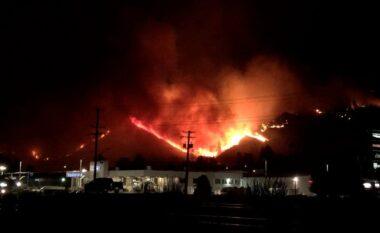 Pas të nxehtit, rrufeja shkakton 130 vatra zjarri në Kanada