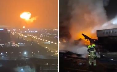 Çfarë po ndodh në Dubai? Shpërthim i fuqishëm dhe zjarr në port