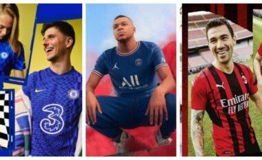 ZYRTARE/ Këto janë uniformat e reja të skuadrave të mëdha për sezonin 2021/2022 (FOTO LAJM)