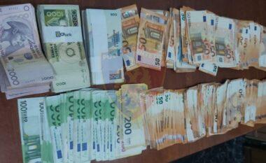 Sekuestrohen rreth 25 mijë euro të padeklaruara në doganën e Kapshticës