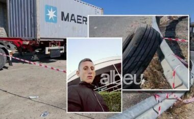 Del fotoja, ky është punëtori 20-vjeçar që i shpërtheu goma e kamionit dhe i mori jetën (FOTO LAJM)
