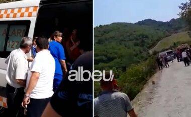 Dalin pamjet! Shoferi po fliste nëtelefon, si përfundoi nëpërrua autobusi me 35 pasagjerë (VIDEO)