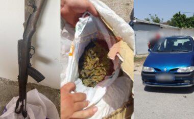Armë, municion luftarak dhe lëndë narkotike, 6 të arrestuar në Durrës