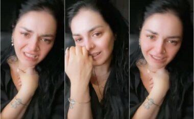 U shfaq duke qarë në Instagram, Fifi sqaron të vërtetën e videos që u bë virale: Kam kajt për dashni! (VIDEO)