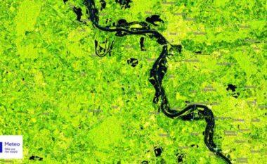 Pamje satelitore të përmbytjeve vdekjeprurëse në Evropën Perëndimore (VIDEO)