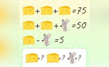 Mendoni se jeni mjeshtëri i matematikës? Provojeni këtë ushtrim (FOTO LAJM)