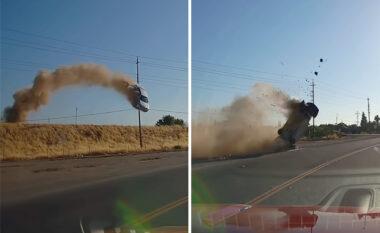 """Si te """"Fast & Furios"""", skena e aksidentit të frikshëm bëhet virale në rrjet (VIDEO)"""