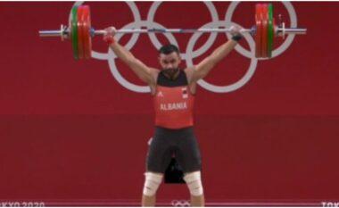 Kinezi vendos rekord olimpik, në çfarë vendi u rendit Briken Calja në stilin e shkëputjes
