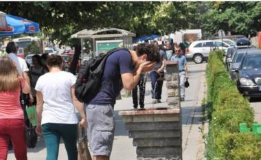 Priten temperatura mbi 40 gradë celsius në Maqedoni