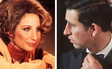 """Princi Charles në moshën 26-vjecare """"u magjeps"""" nga telenti i Barbara Streisand"""