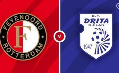 Formacionet zyrtare, Feyenoord-Drita (FOTO LAJM)