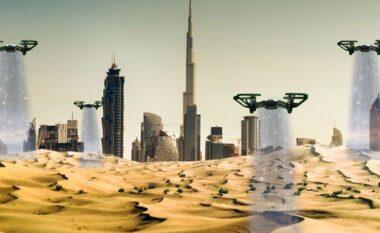 """""""Mbjellja e reve"""" Dubai me teknologji që ndryshon kushtet e motit, krijon shi për të përballuar të nxehtin (VIDEO)"""